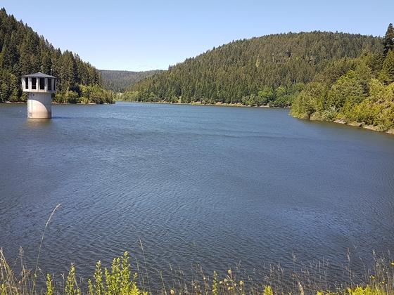 Ausflug Trinkwasserstausee Kleine Kinzig, Schwarzwald
