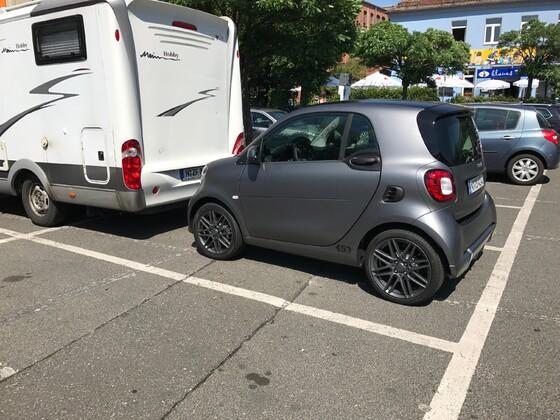 Smarter Parkplatz