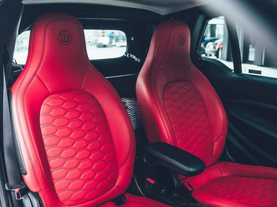 Brabus präsentiert das smartEQfortwo Cabrio als BRABUS 92R