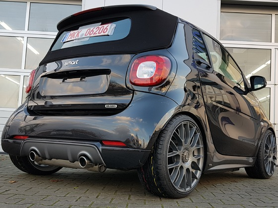 CS SMART 453 CABRIO S130T – BASIS XCLUSIVE 80KW