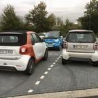 Generationentreff auf dem P&R Parkplatz :-)