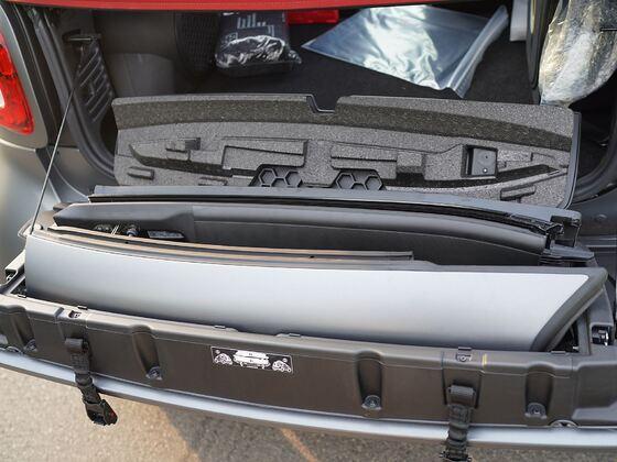 Dachholme im Kofferraum