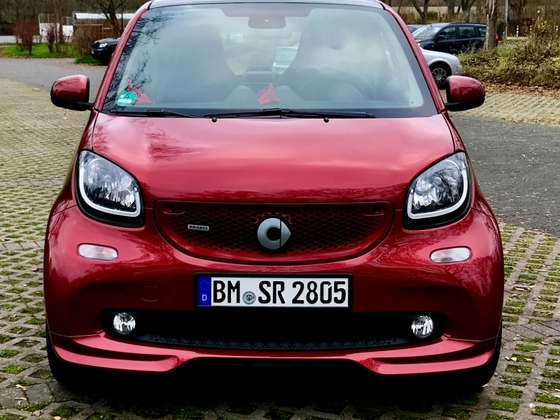 Meine Neuer :-) Smart 42 Barbus xclusive carmine red
