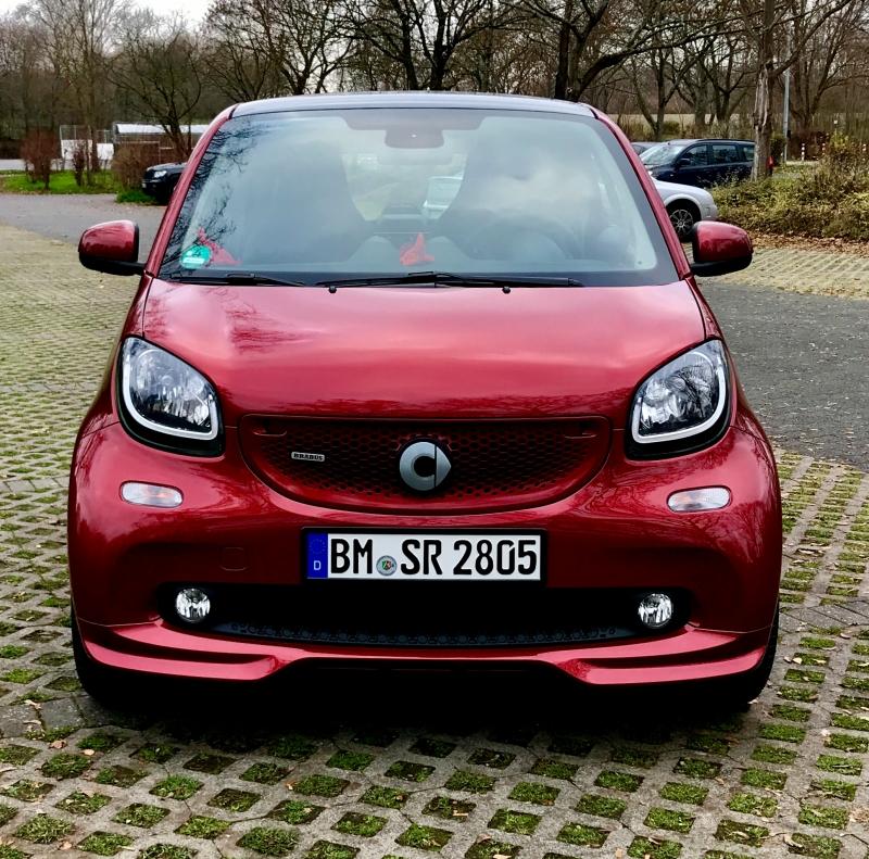 Meine Neuer :-) Smart 42 Barbus xclusive carmine red