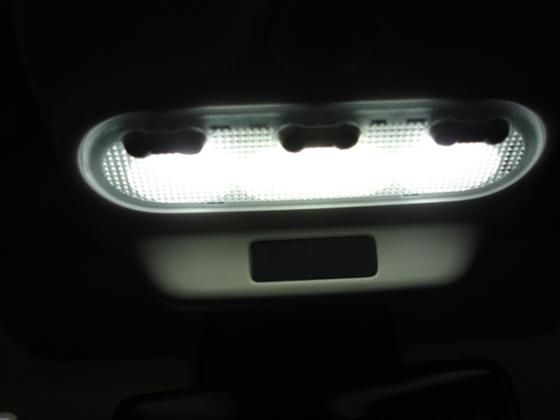 Airbagleuchte, abgedunkelt. Lampen sind LED