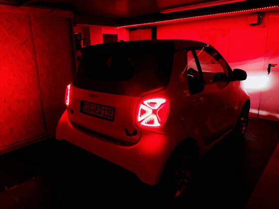 LED Rücklichter sehen schon gut aus! :)