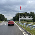 Ankunft in Vilnius