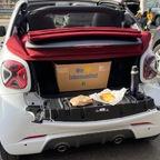 Cabrio aus führen und Picknick in der Eifel
