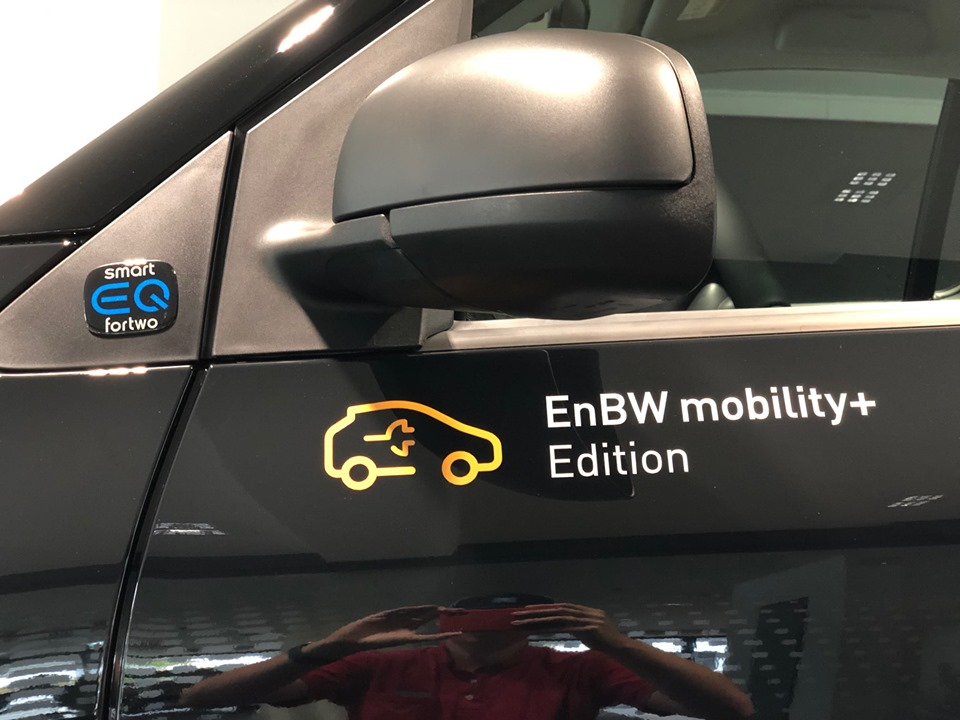 Die smartEQfortwo EnBW mobility+ Edition