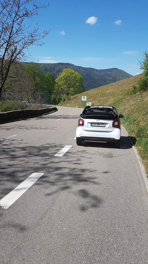 Cabrio im Hochschwarzwald
