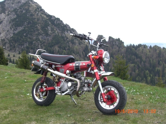 Honda Dax 150ccm Daytona-Motor 4Valve, 19 KW