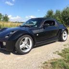 Aus dem Smart Roadster wurde ein Smart 42 Pasion...natürlich wieder in Black..