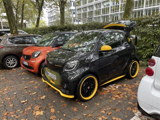 Spontanes smart Treffen in Stuttgart