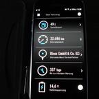 Fahrzeugdatenanzeige