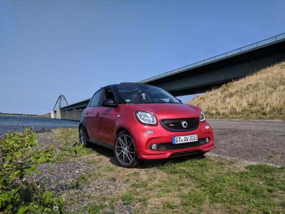 Smart Brabus Xclusive 44 an der Ostsee