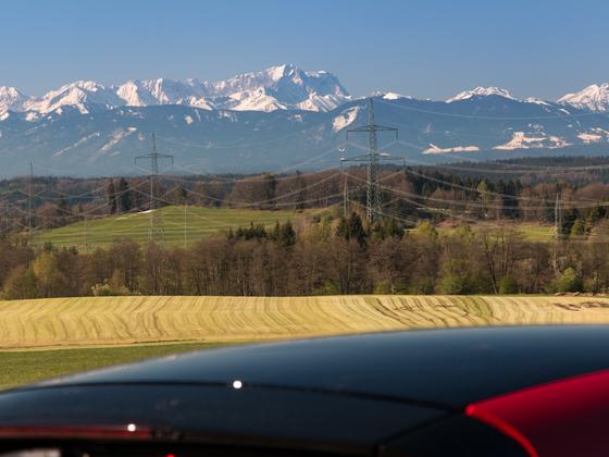 Dach-Panorama über's Panoramadach