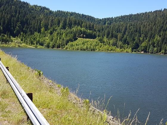 Ausflug an den Trinkwasserstausee Kleine Kinzig, Schwarzwald