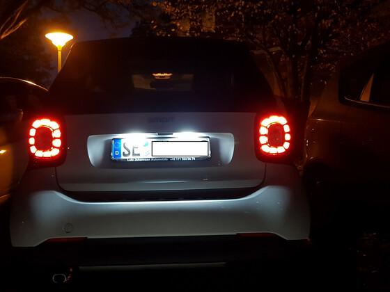 Smartie mit LED
